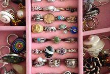 Rings~Piercings~Nails / #rings##piercings#hand tattoo#bracelets#watch#