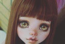 repainting barbie face