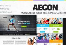 Best Fitness WordPress Themes / Best Fitness WordPress Themes