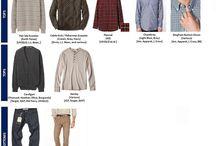 Lässige Kleidung