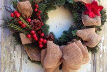 Inspiracja stroiki, wianki Boże Narodzenie