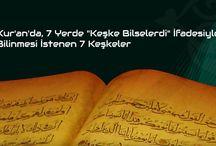 """Kur'an'da, 7 Yerde """"Keşke Bilselerdi"""" İfadesiyle Bilinmesi İstenen 7 Keşkeler"""