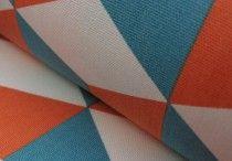 Orange fabrics / Designs mainly or including orange