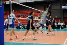 Volleyball / Images from the Wold Championships Qualification in Halmstad , Sweden, 2013, where Greece, Sweden, Norway and Iceland took part, and finished in that order.