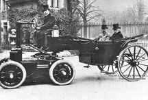 The very first try of automobiles
