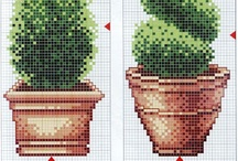 piante punto croce