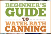 Gardening and Canning