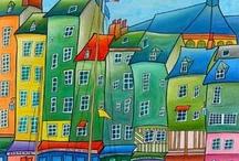 Malowane domki