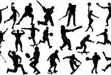 Sports Silhouette Vector / If you are a sports designer you may need a lot of sports silhouette vector to output your best sports designs here it is a special playing sports Silhouette vector for your needs.