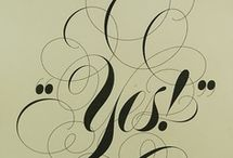 Calligraphy. / by Ali Aynsley