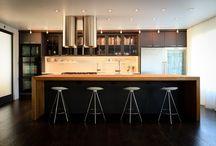 Kitchen / Modern kitchen with clean lines