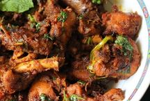 onion masala chicken