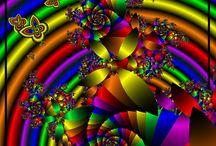 Fractals, Mandalas, Spirals and Zentangles