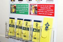 Safety signs / Safety signs and signals are required where, despite putting in place all other relevant measures, a significant risk to the health and safety of employees and others