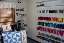 Embroidery & Sewing Room / A room/building for all my craft supplies, my Sewing Machine and My Embroidery Machine!! / by Kayla Poole