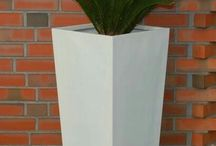 Biele kvetináče ♡ <3