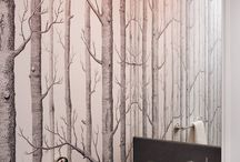 Powder Bathroom / Decorating