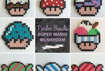 Hama Beads - Super Mario Mushroom