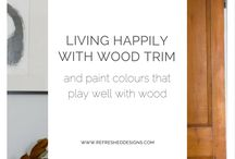 paint for lots of wood in houses