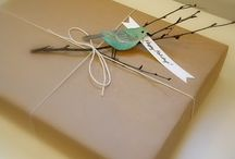 Natural Gift Wrapping Toppers
