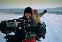 Behind the scenes #1 / Sven Nykvist (Movie set) Jan Rydqvist