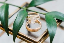 The Rings / A swoon-worthy compilation of engagement ring inspiration for the classic, bohemian, indie, modern, or vintage bride!