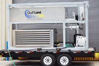 AUXILIARY EQUIPMENT / Gulf Land Structures offers Auxiliary Equipment to provide Electricity, Water, Sewage, Lighting and more. From basic equipment to advanced systems for sewer treatment and potable water, Gulf Land Structures offers Quality Products with Unparalleled Service.  We offer the following Auxiliary Equipment: •Sewer Treatment Systems •Potable Water Tanks •Portable A/C Units •Portable Lighting •Storage Boxes •Generators