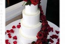 Indian inspired wedding cake