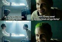 Suicide Squad- Joker and Harley LOVE