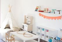 Playroom! Less is more.