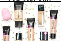 ♡Foundations for Oily Skin♡
