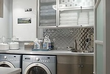 Awash in Laundry / Laundry Rooms with color, style and of course, tiles! / by Country Floors