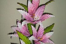 flores en varilla