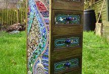 mosaic drawer
