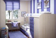 Teen room / Teen room cool blue