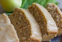 Apple and cinnamon oatmeal bread / Recipe