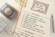 planner - cleaning