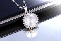 Schmuck Jewelry 925 Silver Pearl Perle