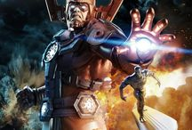 Galactus / The eater of worlds and the source of the power cosmic.  The last survivor of the last universe. / by Heroes World