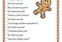Preschool. RHYMES AND SONGS