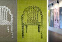 monobloc / le fauteuil monobloc dans l'art