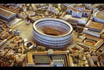 Rome Antique / Monuments, œuvres, objets archéologiques...