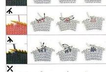 značky na pletení