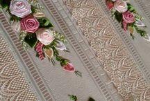 Toalhas com flores