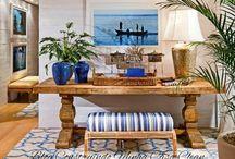 Decoração em Estilo Navy! Tendência e Sofisticação! / Veja + Inspirações e Dicas de decoração no blog!  www.construindominhacasaclean.com