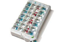 Caixas de medicamentos / Caixas organizadoras para remédios
