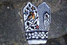 Strikkavotter Strikking Votter Knitting Mittens
