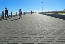 Commercial Paving / Commercial uses, ideas and solutions for paving from C.E.L. Paving Products and others