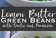 green beans with lemon