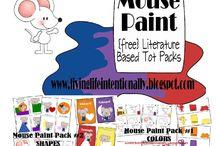 Mouse paint activities